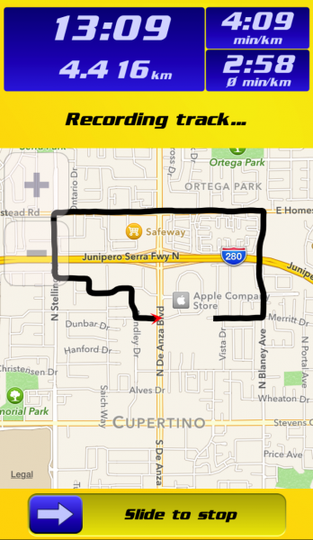 how to track your run
